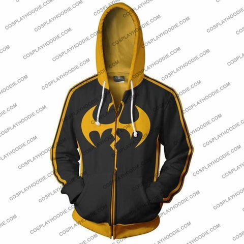 Image of Iron Fist Marvel Hoodie Jacket Cosplay