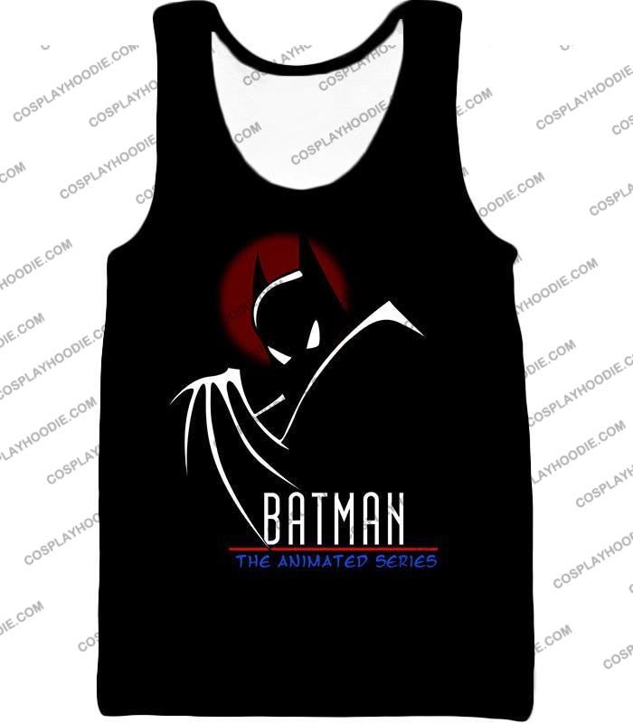 Dc Comics Superhero Batman The Animated Series Promo Black T-Shirt Bm008