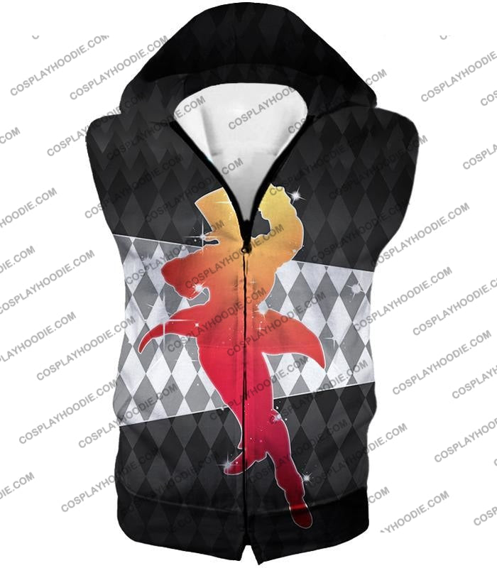 Jojos All Star Battle C Will A Zeppeli Graphic T-Shirt Jo008 Hooded Tank Top / Us Xxs (Asian Xs)