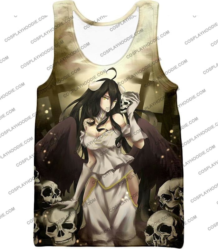 Overlord Beautiful Albedo Infatuated With Ainz Cool Promo Anime Graphic T-Shirt Ol080 Tank Top / Us
