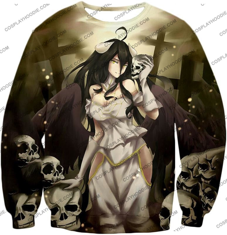 Overlord Beautiful Albedo Infatuated With Ainz Cool Promo Anime Graphic T-Shirt Ol080 Sweatshirt /