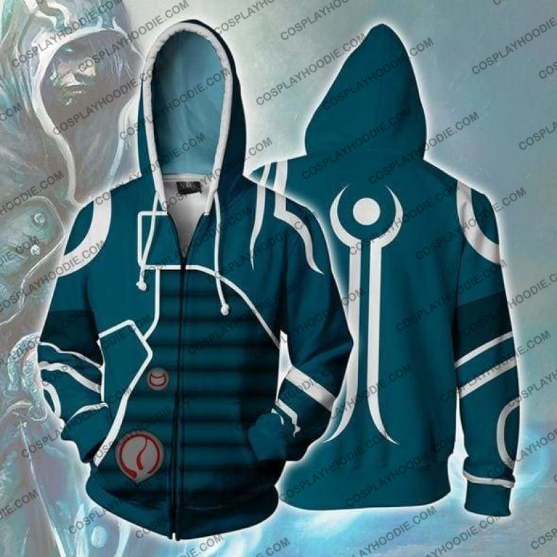 Magic The Gathering Hoodie - Jace Jacket Cosplay
