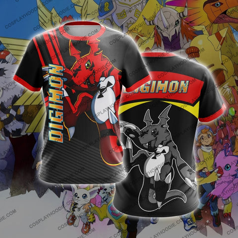 Digimon Guilmon T-Shirt T-Shirt