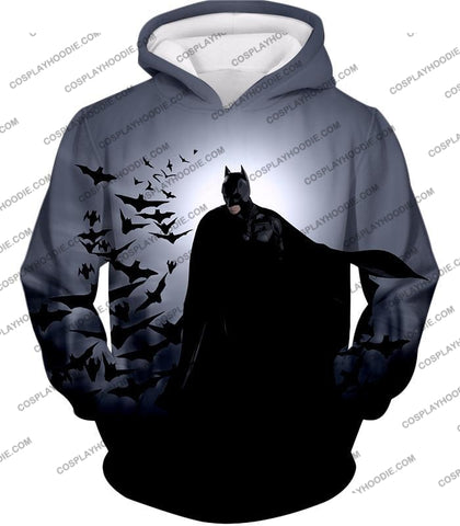 Image of Super Cool Gotham Vigilante Batman Graphic Action T-Shirt Bm009 Hoodie / Us Xxs (Asian Xs)