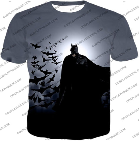 Image of Super Cool Gotham Vigilante Batman Graphic Action T-Shirt Bm009 / Us Xxs (Asian Xs)