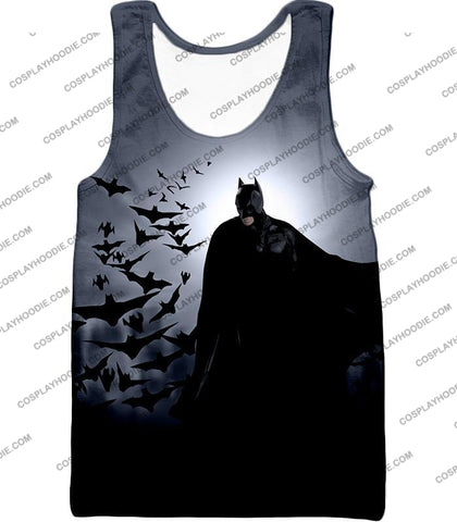 Image of Super Cool Gotham Vigilante Batman Graphic Action T-Shirt Bm009 Tank Top / Us Xxs (Asian Xs)