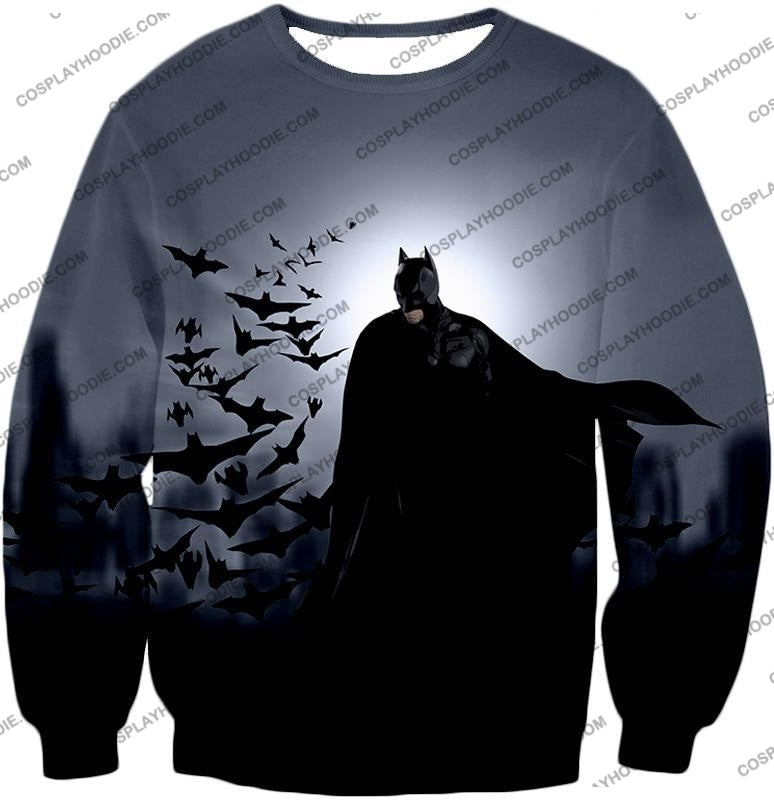 Super Cool Gotham Vigilante Batman Graphic Action T-Shirt Bm009 Sweatshirt / Us Xxs (Asian Xs)