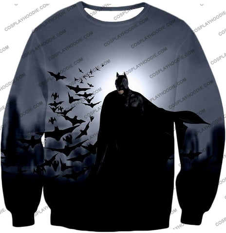 Image of Super Cool Gotham Vigilante Batman Graphic Action T-Shirt Bm009 Sweatshirt / Us Xxs (Asian Xs)