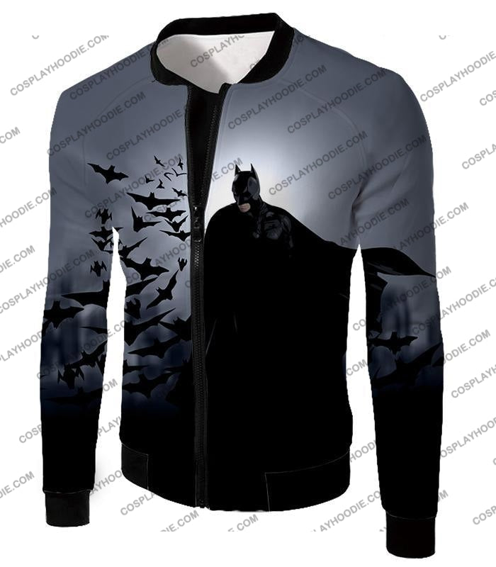 Super Cool Gotham Vigilante Batman Graphic Action T-Shirt Bm009 Jacket / Us Xxs (Asian Xs)