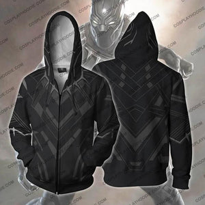 Black Panther Hoodie - Classic Jacket Cosplay