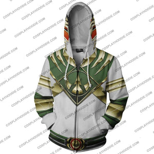 Power Rangers Green Hoodie Jacket Cosplay