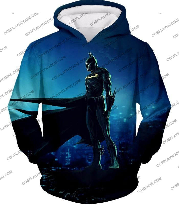 Protecting In The Dark Ultimate Hero Batman Awesome Graphic T-Shirt Bm094 Hoodie / Us Xxs (Asian Xs)