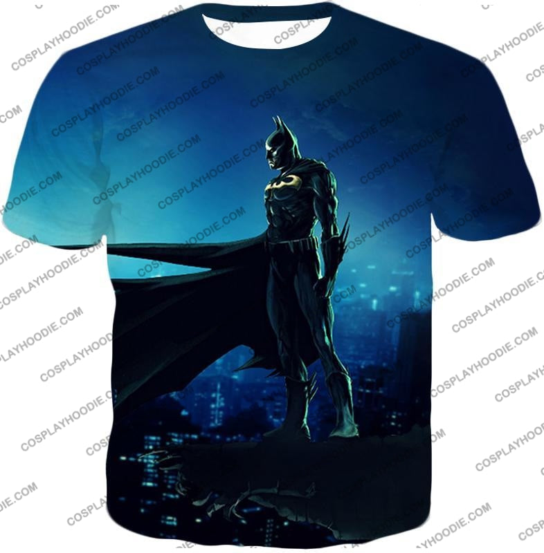 Protecting In The Dark Ultimate Hero Batman Awesome Graphic T-Shirt Bm094 / Us Xxs (Asian Xs)