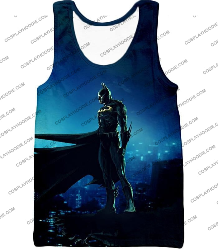 Protecting In The Dark Ultimate Hero Batman Awesome Graphic T-Shirt Bm094 Tank Top / Us Xxs (Asian
