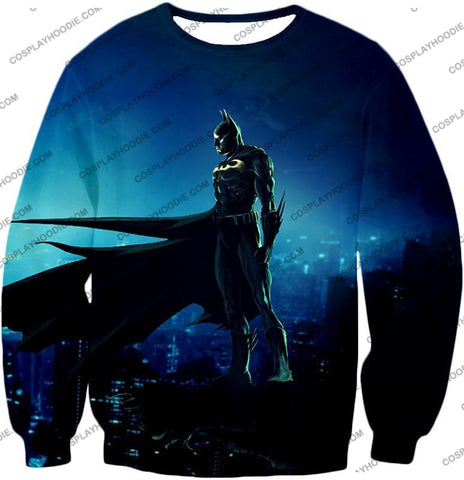 Image of Protecting In The Dark Ultimate Hero Batman Awesome Graphic T-Shirt Bm094 Sweatshirt / Us Xxs (Asian