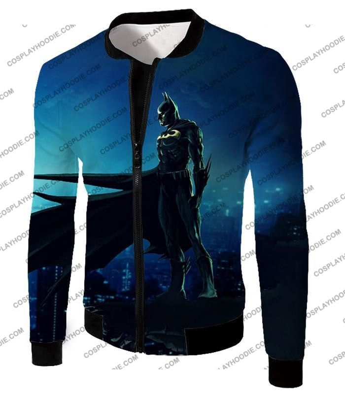 Protecting In The Dark Ultimate Hero Batman Awesome Graphic T-Shirt Bm094 Jacket / Us Xxs (Asian Xs)