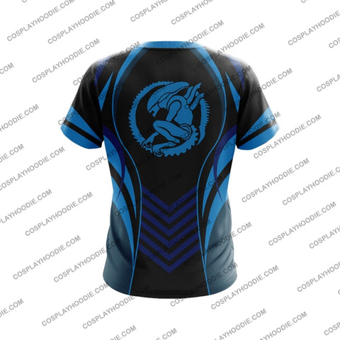 Alien Blue The Predator T-Shirt T-Shirt