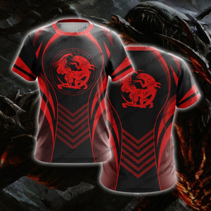 Alien Red The Predator T-Shirt T-Shirt