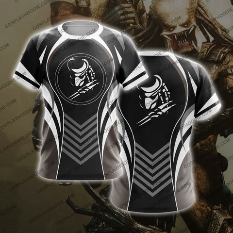 Alien White The Predator T-Shirt T-Shirt
