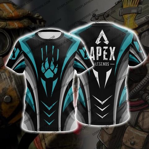 Image of Apex Legends Bloodhound Cosplay T-Shirt A1