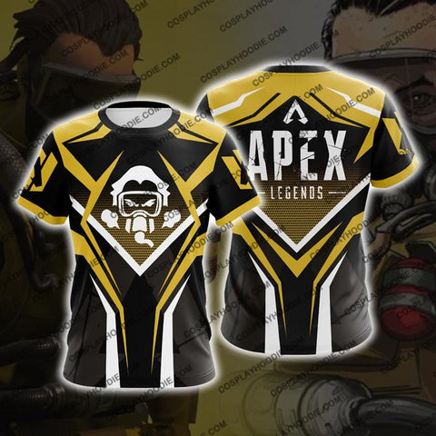 Image of Apex Legends Caustic Cosplay T-Shirt