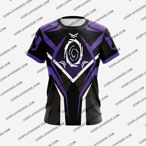 Image of Apex Legends Wraith Cosplay T-Shirt