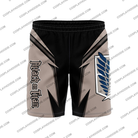Attack On Titan Board Short Shorts