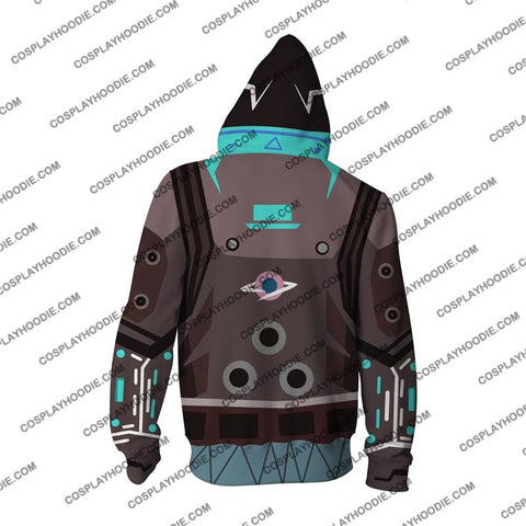 Image of Cyberpunk 2077 V1 Cosplay Zip Up Hoodie Jacket