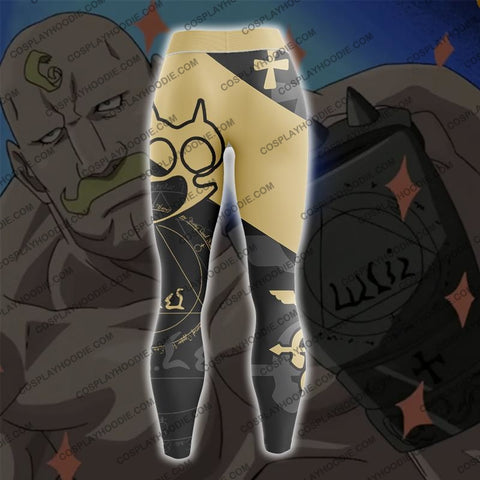 Fullmetal Alchemist Alex Louis Armstrong Cosplay Leggings