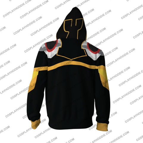 Overlord Momonga Hoodie Cosplay Jacket Zip Up