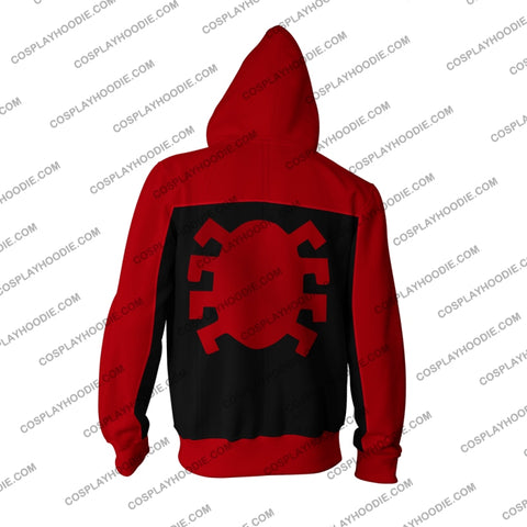 Image of Spider-Man Last Stand Cosplay Ps4 Zip Up Hoodie Jacket