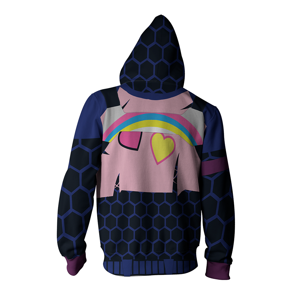 Fortnite Brite Bomber Skin Hoodie Cosplay Jacket Zip Up