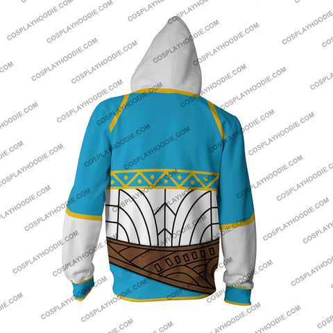 Image of The Legend Of Zelda Princess New Hoodie Cosplay Jacket Zip Up