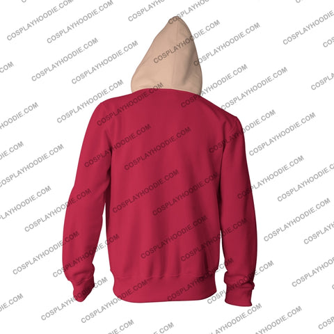 Image of One Piece Monkey D. Luffy Hoodie Cosplay Jacket Zip Up