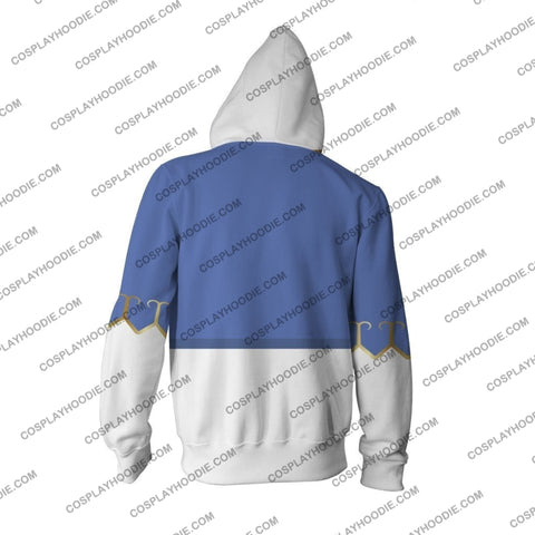 Image of Street Fighter Chun-Li Hoodie Cosplay Jacket Zip Up