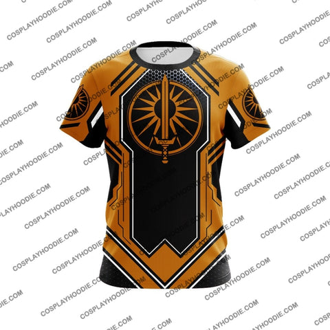 Image of Battletech Davion Cosplay T-Shirt T-Shirt
