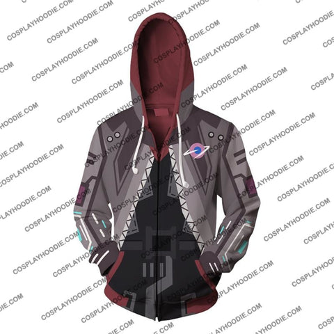Cyberpunk 2077 V2 Cosplay Zip Up Hoodie Jacket
