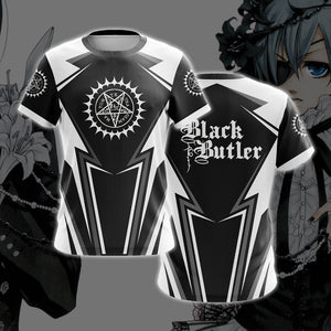 Black Butler White T-shirt