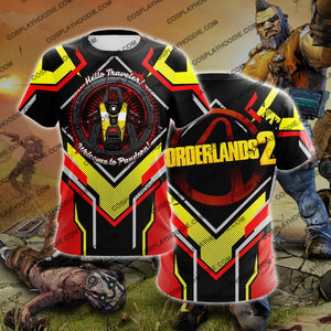 Borderland Yellow And Red Cosplay T-Shirt T-Shirt