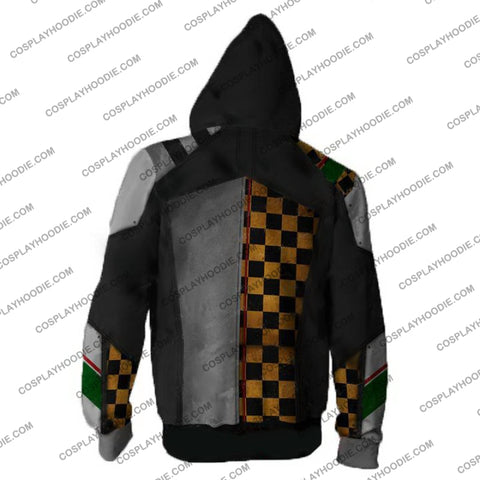 Borderlands Hoodies - Torgue V2 Zip Up Hoodie Jacket Cosplay