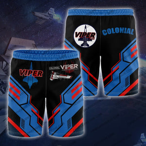 Colonial Viper Board Short Shorts