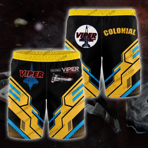 Colonial Viper Board Short Yellow Shorts