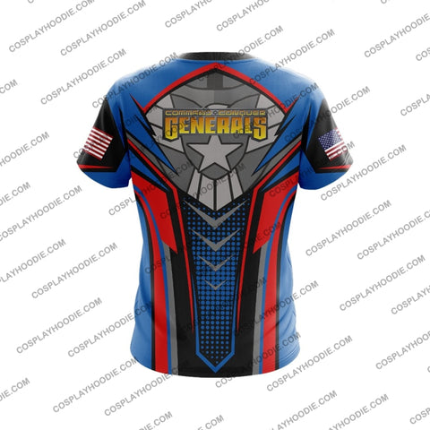 Command And Conquer Generals Usa Army T-Shirt T-Shirt