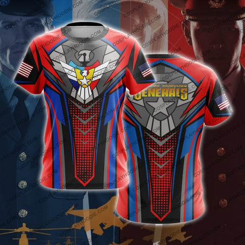 Command And Conquer Generals Usa Army T-Shirt V1 T-Shirt