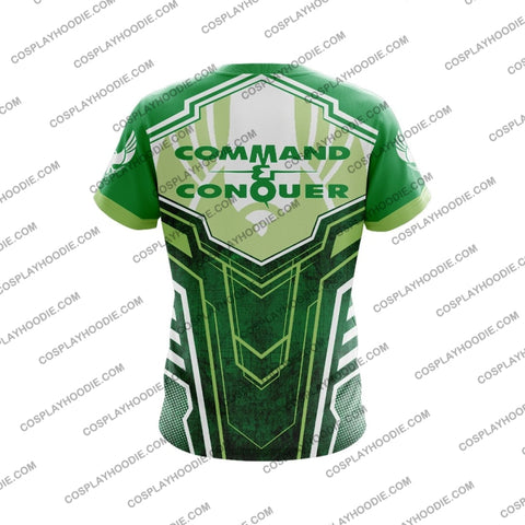 Command And Conquer Steel Talons Green T-Shirt T-Shirt