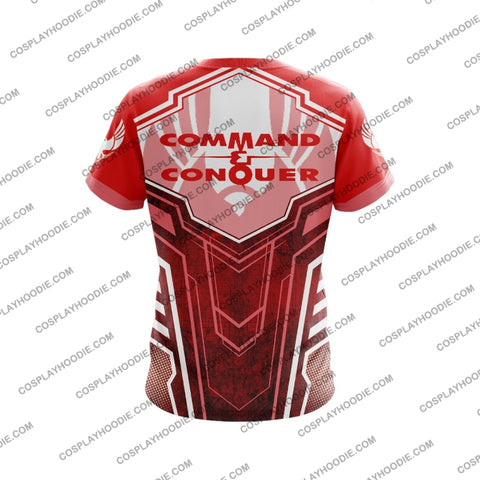 Command And Conquer Steel Talons Red T-Shirt T-Shirt