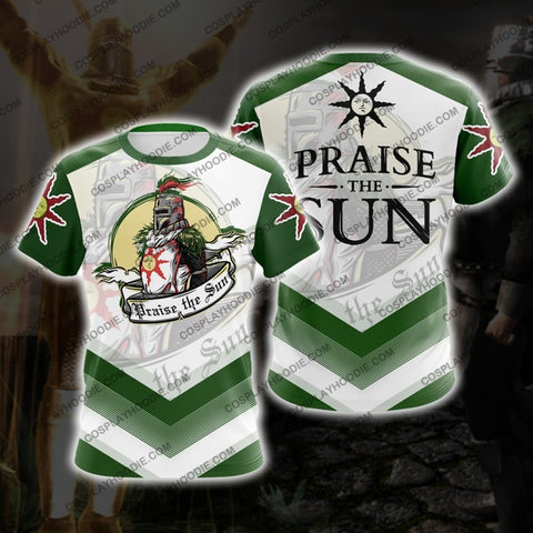 Dark Souls Praise The Sun D1 T-Shirt T-Shirt