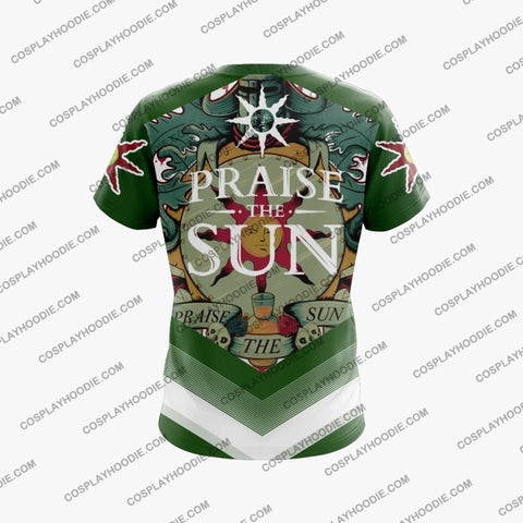 Dark Souls Praise The Sun D2 T-Shirt T-Shirt