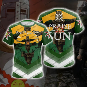 Dark Souls Praise The Sun D3 T-Shirt T-Shirt