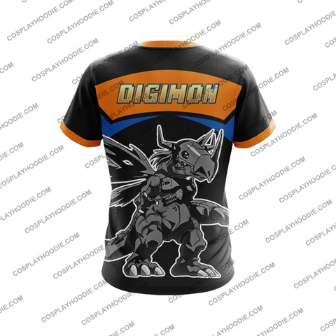 Digimon Metal Greymon T-Shirt T-Shirt